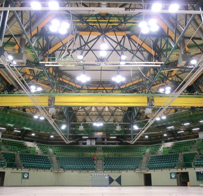Im Oktober / November 2018 wurde von NORKA Automation die ScaleControl-Lichtsteuerung in der Unihalle Wuppertal in Betrieb genommen