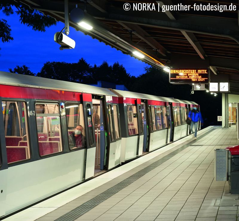 Referenz ScaleControl Meiendorfer Weg Hamburger Hochbahn NORKA Automation 2